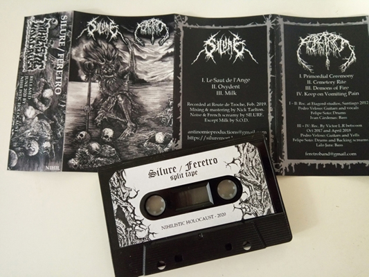 SILURE / FERETRO Split tape out now! (Death metal) Silure_img_promoweb1_small