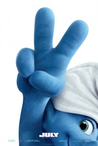 George Clooney To Hedge Fund Honcho Daniel Loeb: Stop Spreading Fear At Sony - Page 2 Smurfs2_poster-202x300