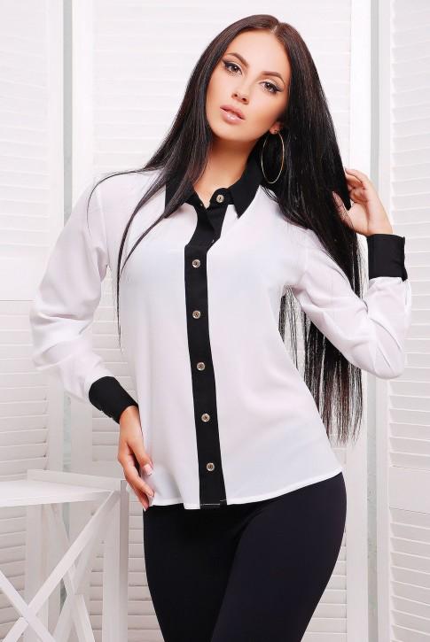 NIKO-Opt - Более 520 моделей женской одежды от производителя! опт от 3-х едениц! Rubashka-klassika-rb-1228a