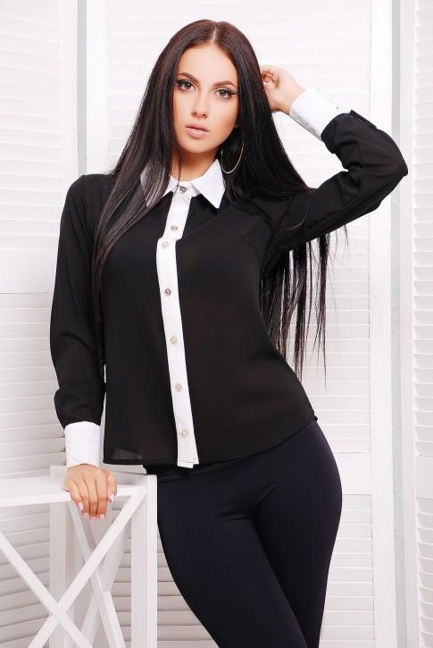 NIKO-Opt - Более 520 моделей женской одежды от производителя! опт от 3-х едениц! Rubashka-klassika-rb-1228b