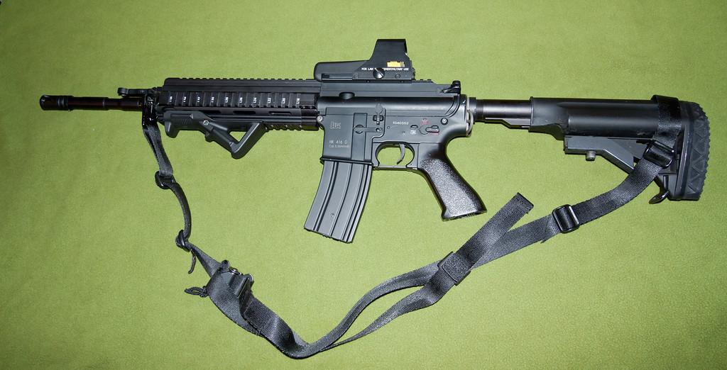Por que usar HK-416 I-VtXvbHS-XL