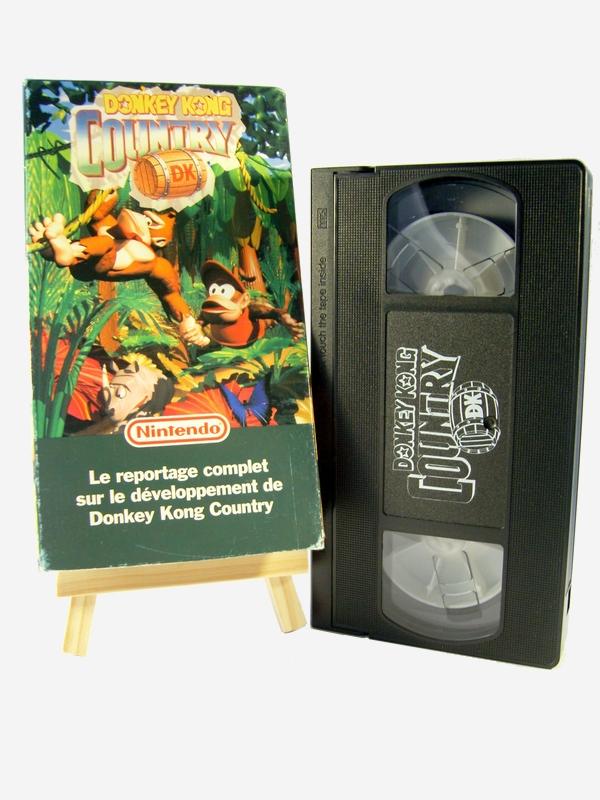Superplay, Mook, Doujin, Gamest, VHS Promo, OVA,... un autre coup d'oeil sur le Retro VHS-Donkey-Kong-Country--3