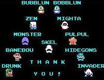 Bubble Bobble ( Multi support ) BubbleBobble_Monstres