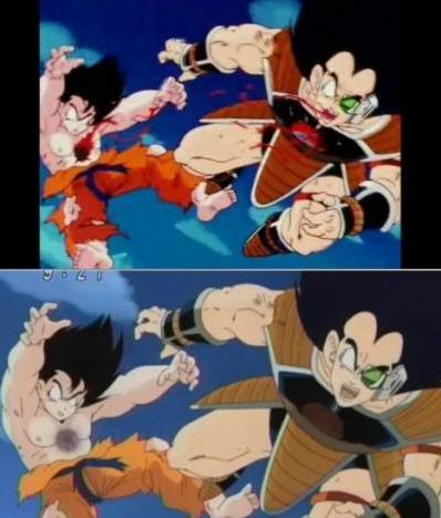 Diminuição da Violência no ANIME Dragon Ball Kai Kai