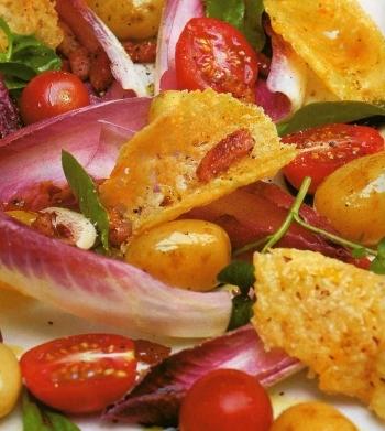 Insalata con sfoglie di parmigiano 2012083173