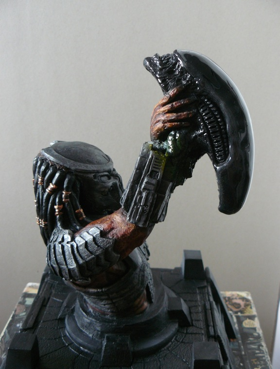 AVP szobrok, [saját készítés] 8