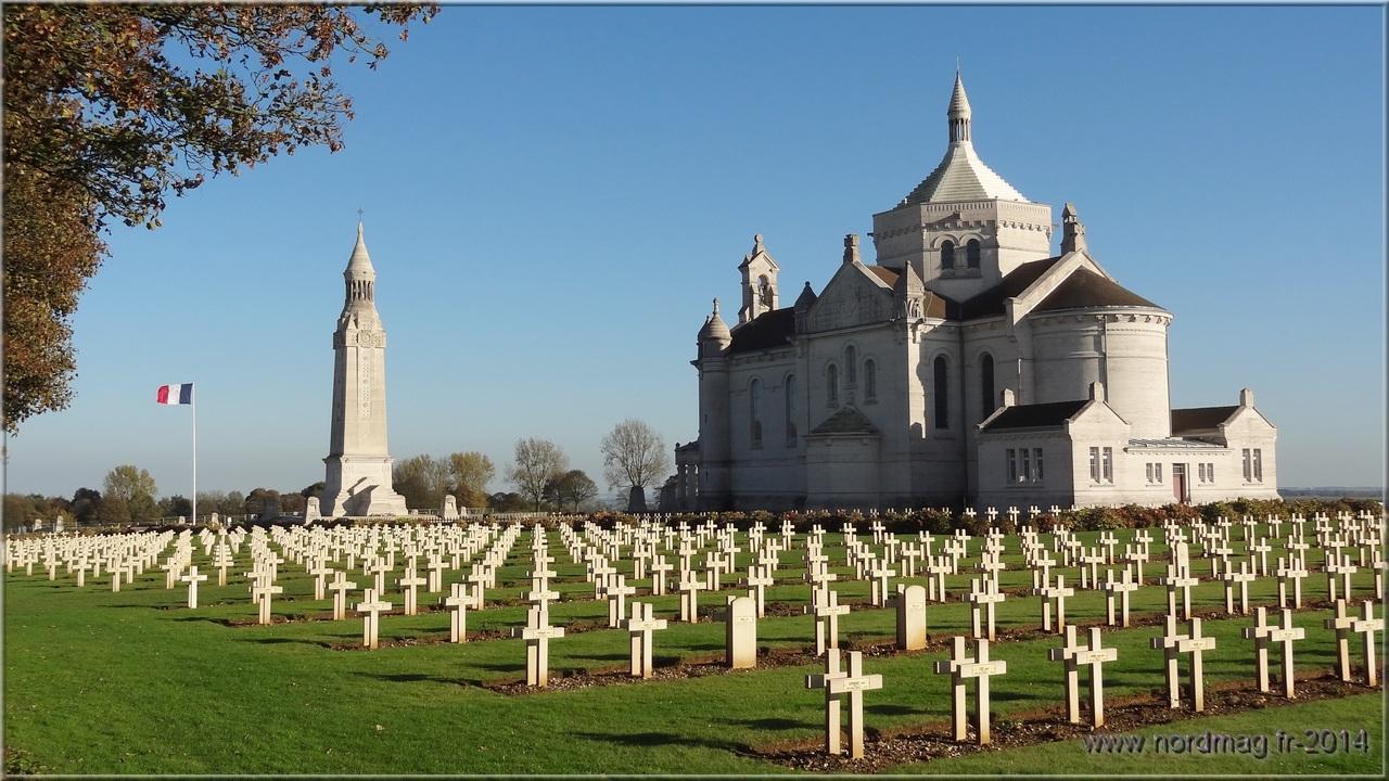 Notre Dame de Lorette : la grande nécropole française de la Grande Guerre NotreDameLorette