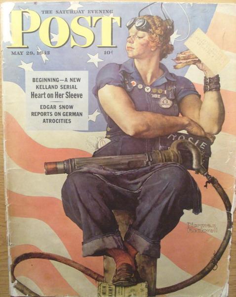 D'une affiche de propagande au féminisme, Rosie, We can do it 214-Rosie-the-Riveter