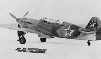 chasseur de Yakovlev Yak7-001
