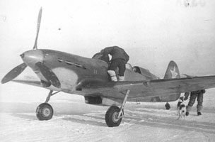 chasseur de Yakovlev Yak7-002