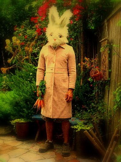 Le lapin dans l'art Bunnybrannaman