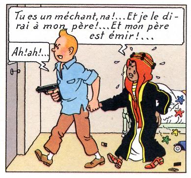 Grand avertissement Tintinfesse