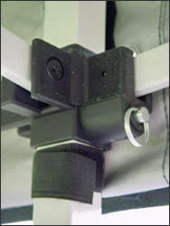 NOSTALGIA SPORTSCARS - TENTES D'ASSISTANCE pliables en 60s Detail_bulle01