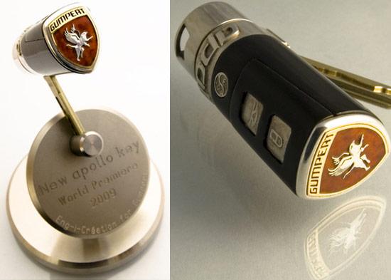 Las llaves de coches más caras del mundo Gumpert-Apollo-llave