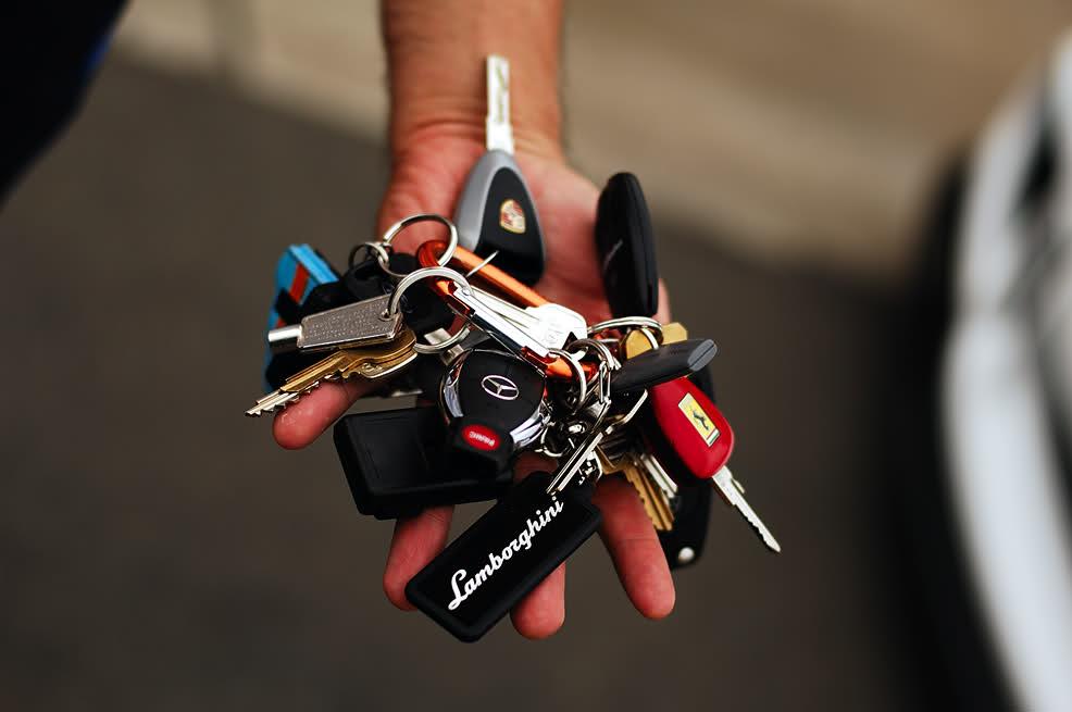 Las llaves de coches más caras del mundo Llaves-