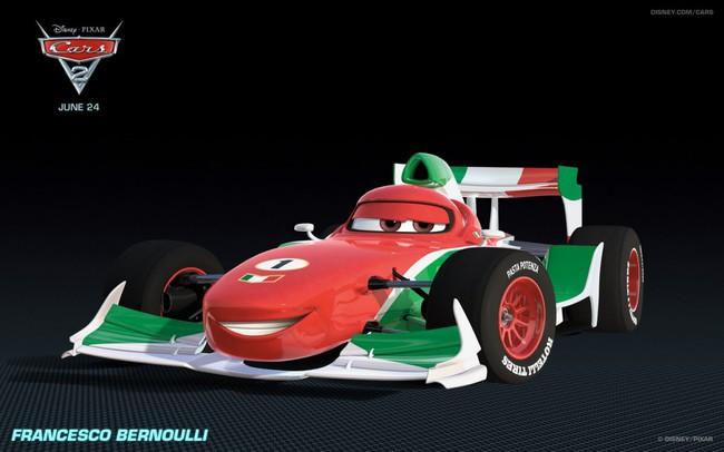 Los coches de los personajes de Cars 2 Francesco-Bernoulli-Cars-2-Characters-1024x640-650x406