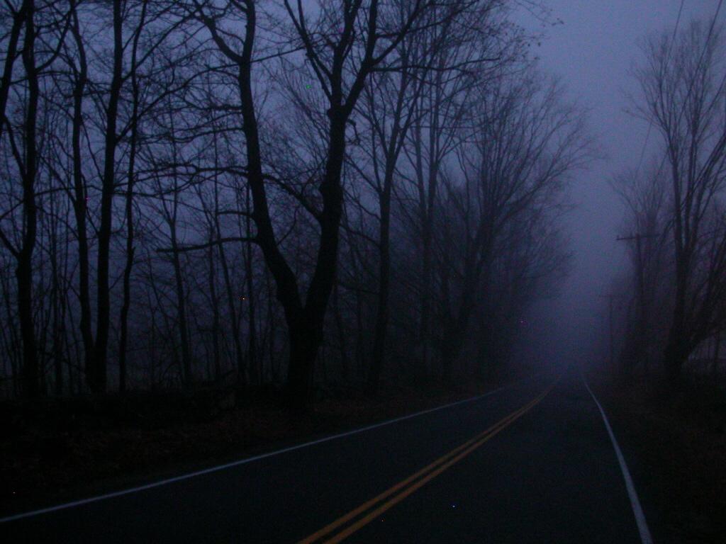 Las carreteras españolas, mal iluminadas Carretera