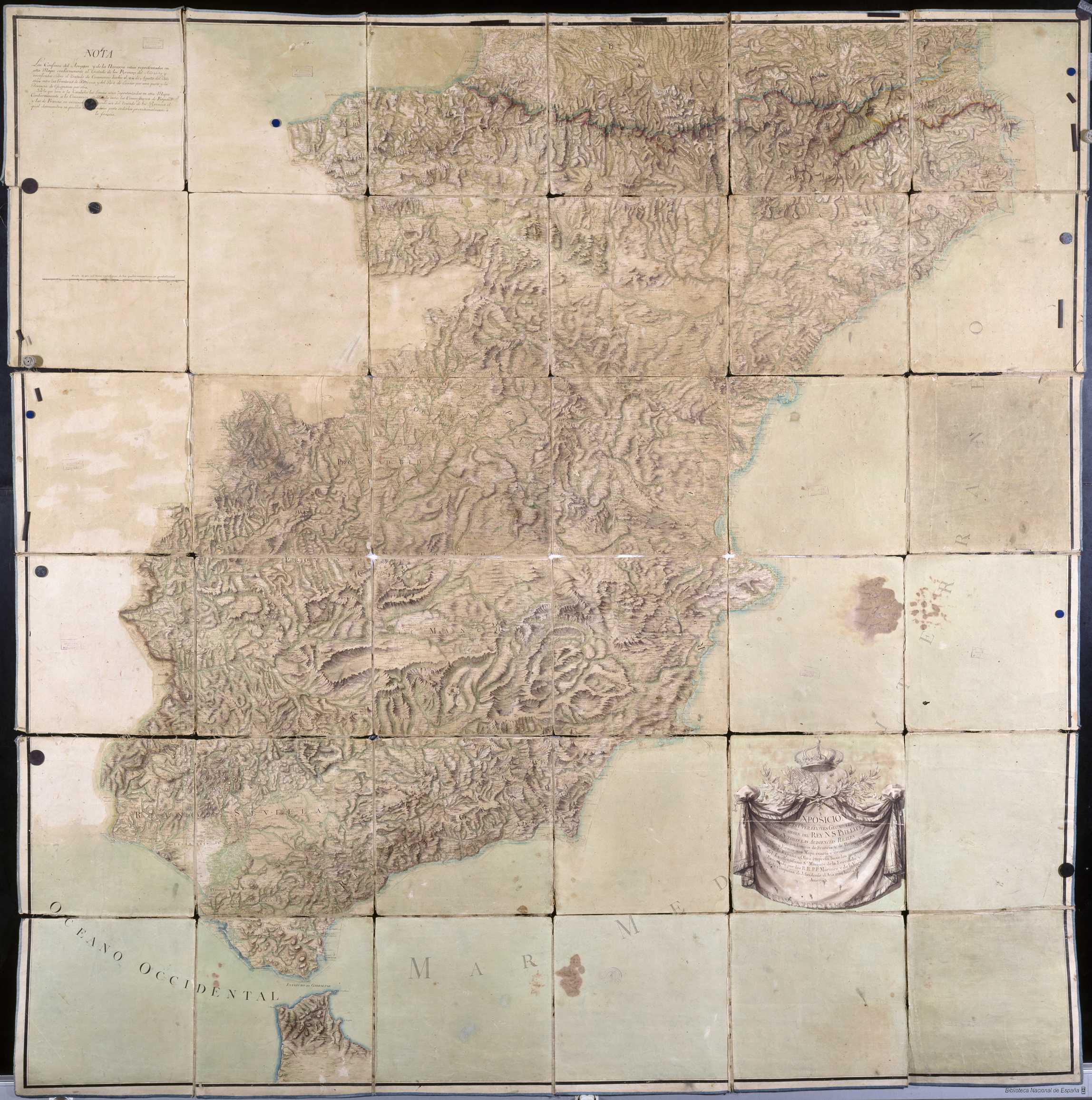 El primer y mejor mapa de carreteras jamás diseñado Mapa-2