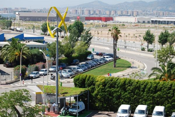 Abre la primera electrolinera Sanya SkyPump en Barcelona Uge-sanya-skypump-barcelona