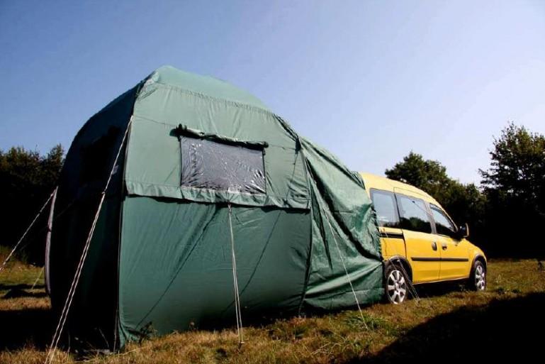 Yatoo: tienda, cocina y cama en el coche Yatooconcept