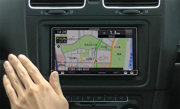 Tu próximo GPS entenderá tus gestos Pioneer-navi