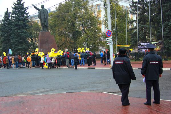 В Рязани прошёл митинг с требованием создать приют для бездомных животных вместо их уничтожения Mit%2001