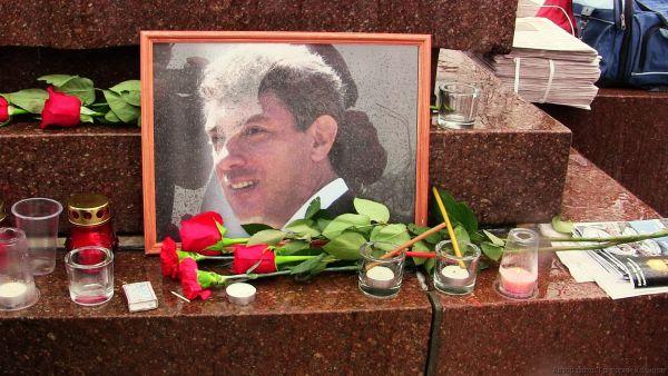 Рязанцы почтили память убитого год назад Немцова Ne2