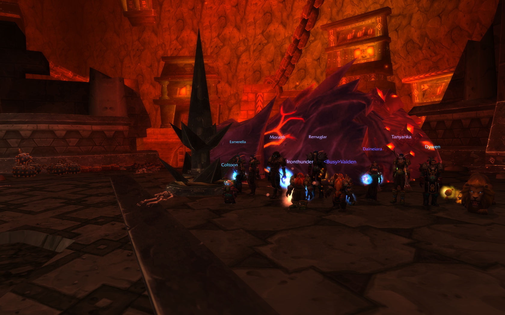 Cataclysm Progression Cata-enthu-first-raid-kill
