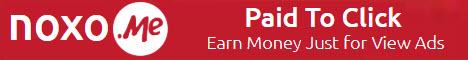 Noxo - $0.01 por clic - minimo $2.00 - Pago por Payeer, Paysilk, PerfectMoney, Bitcoin - bono de $1.00 Noxo468