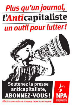 L'Anticapitaliste ( presse ) AntiK%20pub%20affiche