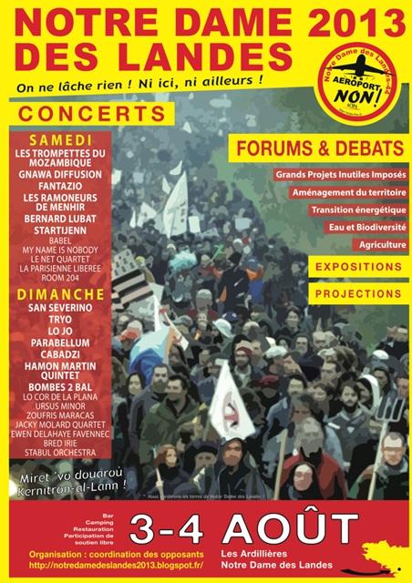 Contre l'aéroport de Notre Dame Des Landes (44) - Page 22 NDDL-affiche-3-4-aout_0