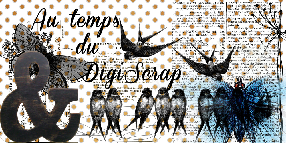 Au Temps du Digiscrap