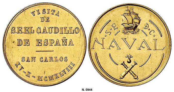 Fotos de la subasta Hispania de Aureo 0944g