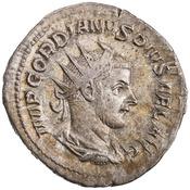 Antoniniano de Gordiano III. MARS PROPVG. Roma  1944.100.19920.obv.width175
