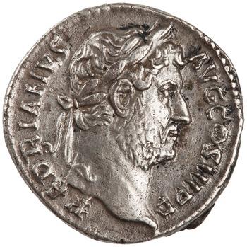 Denario de Adriano. HISPANIA. Roma 1944.100.45552.obv.width350