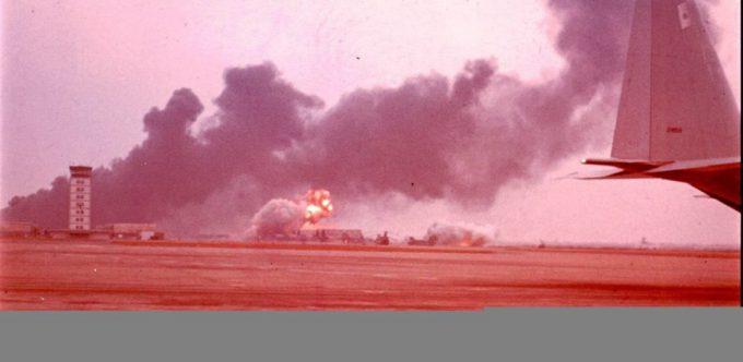 không - SỬ LIỆU CHIẾN TRANH VN - KHÔNG QUÂN VNCH THÁNG 4, 1975 Nhungdamchay-29-4-75-680x332