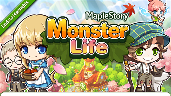 [GMS 135] Monster Life Update Highlights 130517_UpdateHighlights_MonsterLife_01