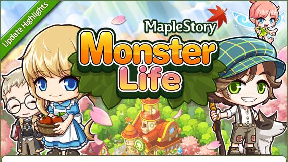 [GMS 135] Monster Life Update Highlights 130517_UpdateHighlights_MonsterLife_01