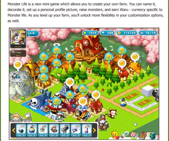 [GMS 135] Monster Life Update Highlights 130517_UpdateHighlights_MonsterLife_02