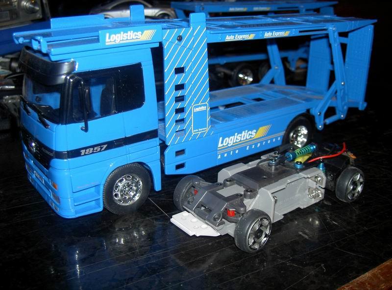 Kyosho Mini Z] Transformation d'une Mini Z en camion porte auto. 03