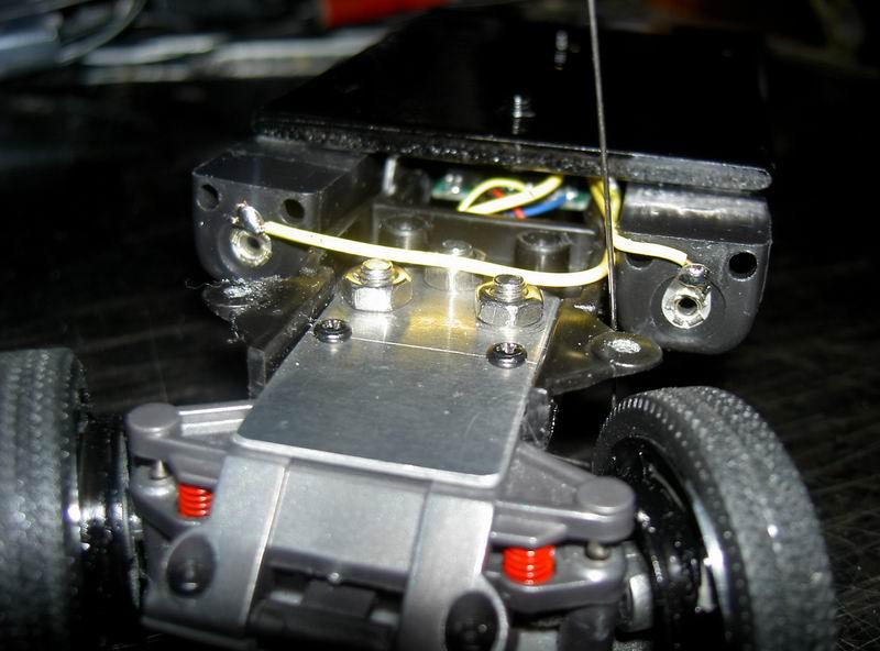 Kyosho Mini Z] Transformation d'une Mini Z en camion porte auto. 05