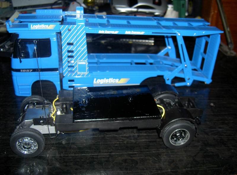 Kyosho Mini Z] Transformation d'une Mini Z en camion porte auto. 17