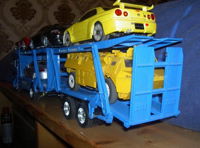 Kyosho Mini Z] Transformation d'une Mini Z en camion porte auto. 22