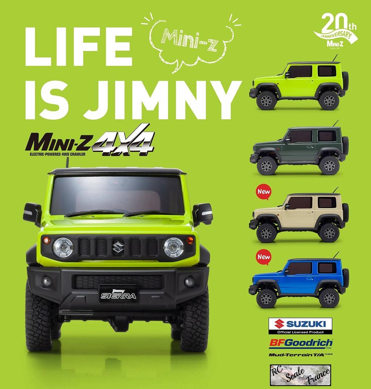 RC Scale france - Portail Jimny-Z-01