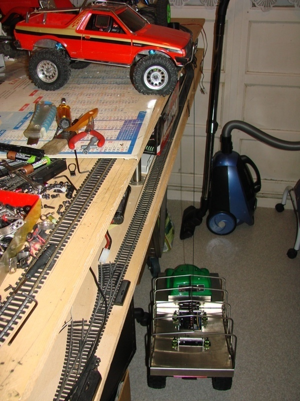 Fabrication d'un treuil puissant a partir d'un Servo 117