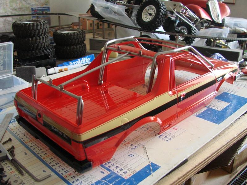 Axial  AX10 ARTR - Tamiya Subaru Brat 71