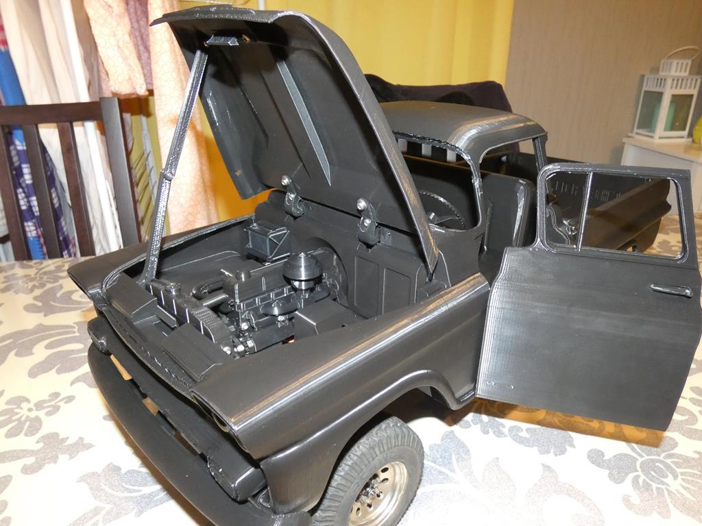 Camion Zil 131 6x6 impression 3D avec balancier totalement fait maison - Page 2 099