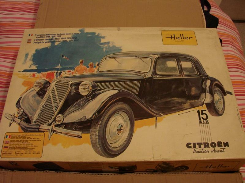 Tamiya blasing Blazer Bruiser - Citroen Traction 15/6 Heller - 1948 001