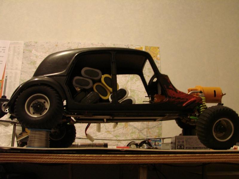 Tamiya blasing Blazer Bruiser - Citroen Traction 15/6 Heller - 1948 073