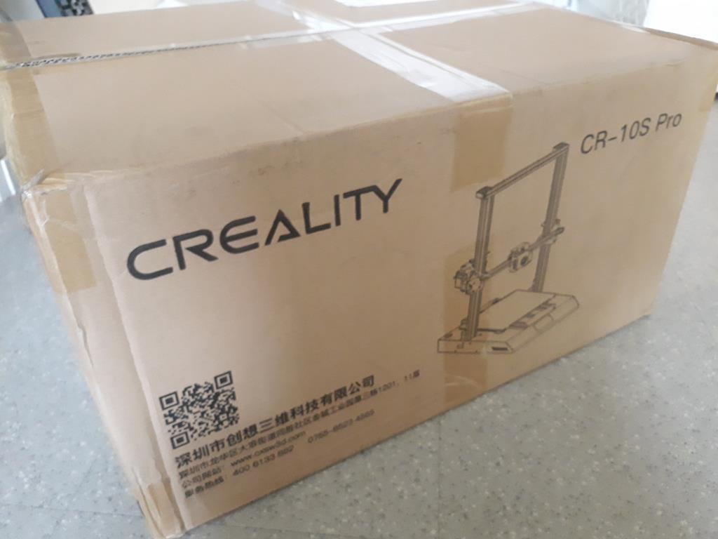 Creality CR10S Pro , mon nouveau jouet 3D 01